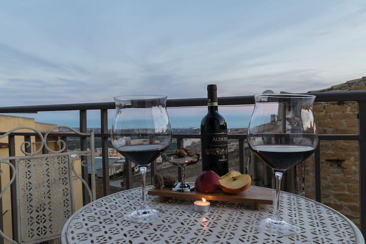 Vista dal Balcone Casuzza