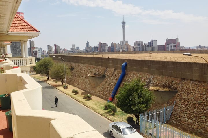 Beautiful views in central Johannesburg