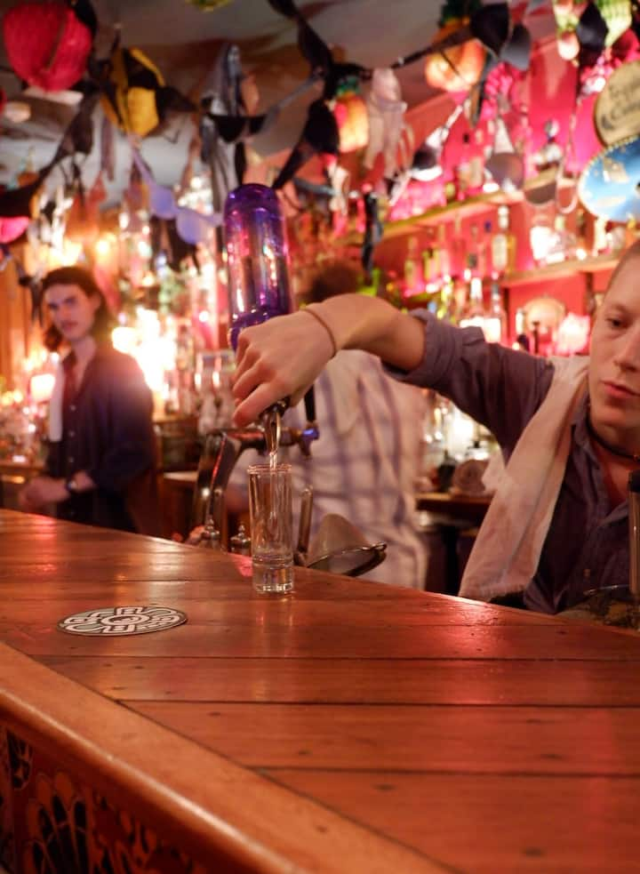 Expert and fun bartenders at every bar!
