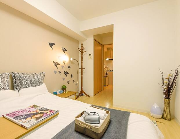Close to Namba! Spacious room for 2 person # 1