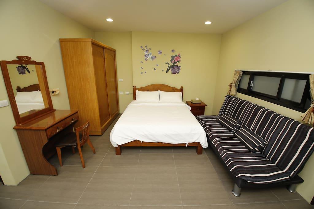 舒適大床雙人套房