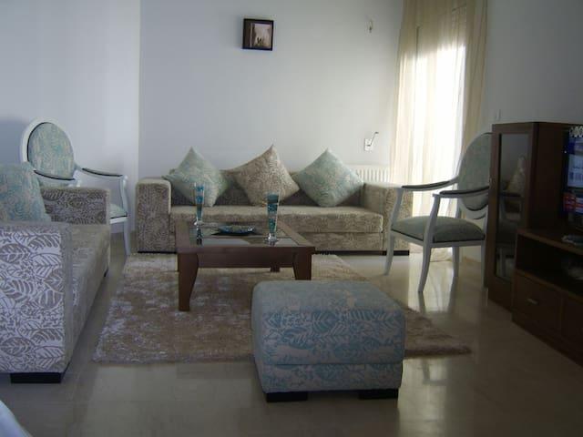 Joli Appartement salon+2 chambres