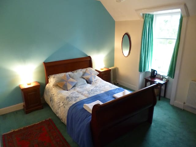 The Manse, Double bedroom - Morvern - Casa