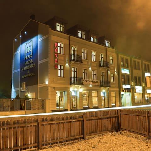 Butikowy hotel w centrum Siedlec