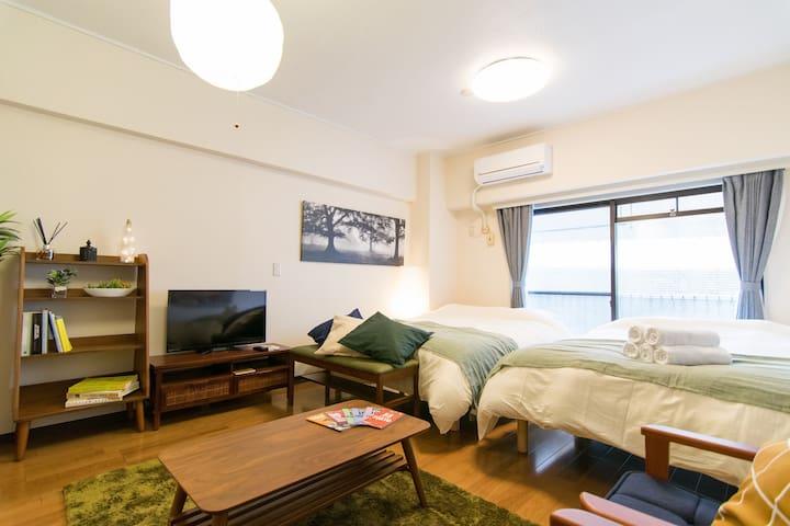 NEW OPEN★Luxurious Apt.@Yokohama/China#ES106 - Naka-ku, Yokohama-shi - Wohnung