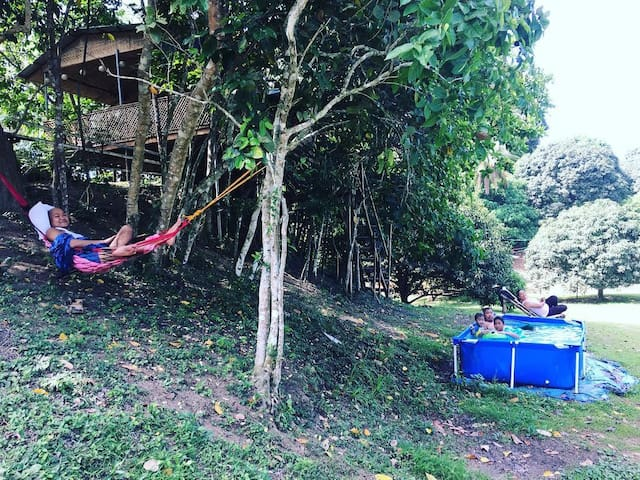 KFB Farm Treehouse and Semiglamping, Taal Lake