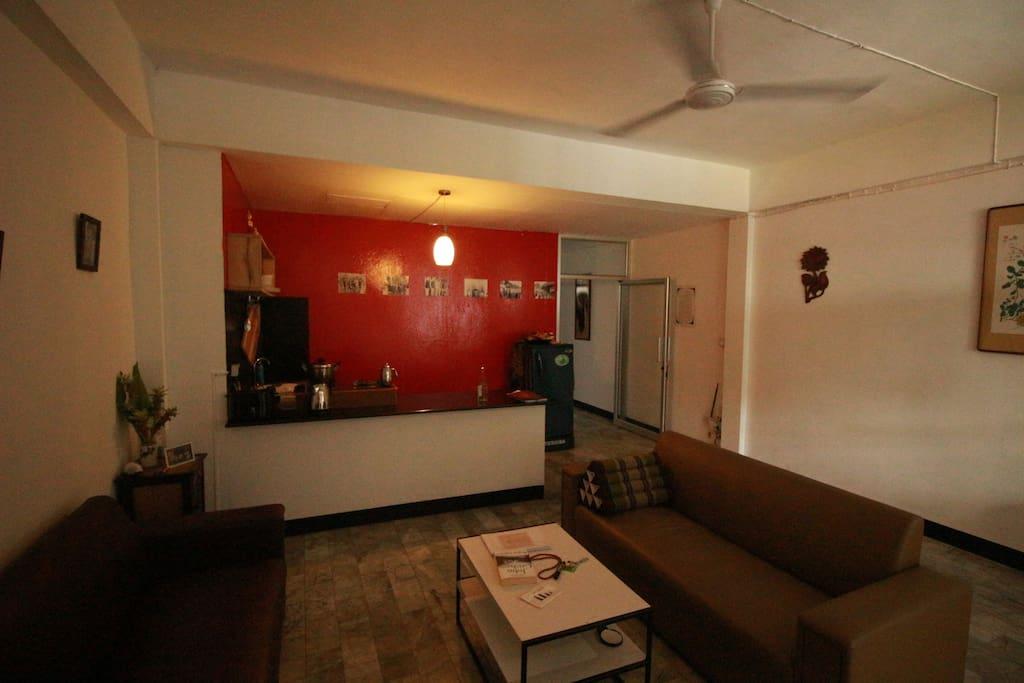 客厅&厨房