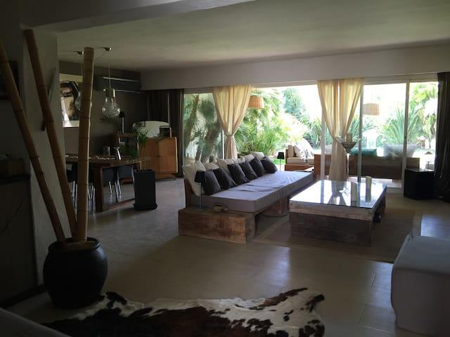 Casa lujo con jardín cerca del mar - Ibiza - Rumah