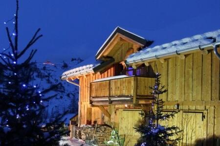 Chalet Montagnard au calme - 瓦卢瓦尔 (Valloire) - 牧人小屋