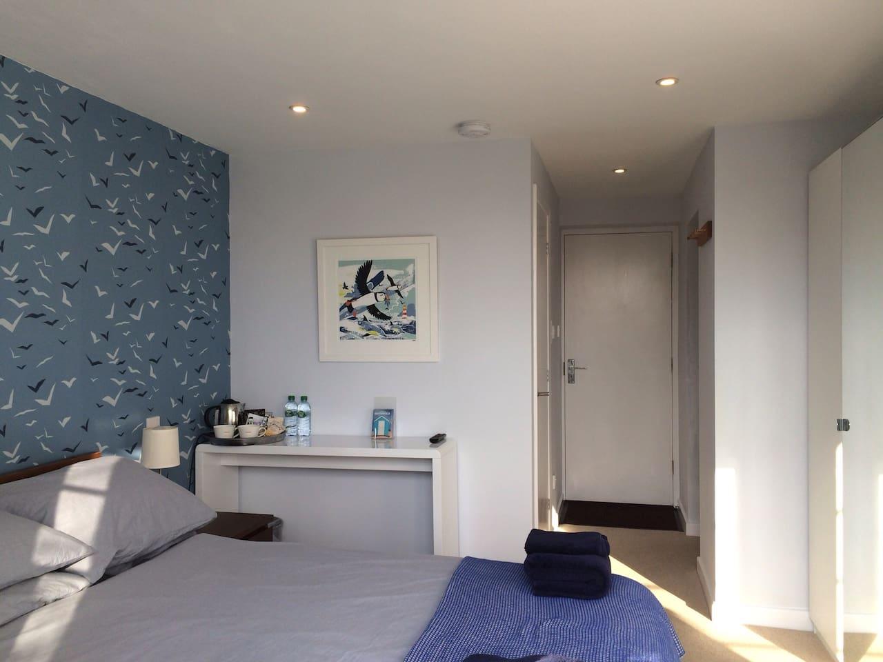 Newly refurbished stylish room