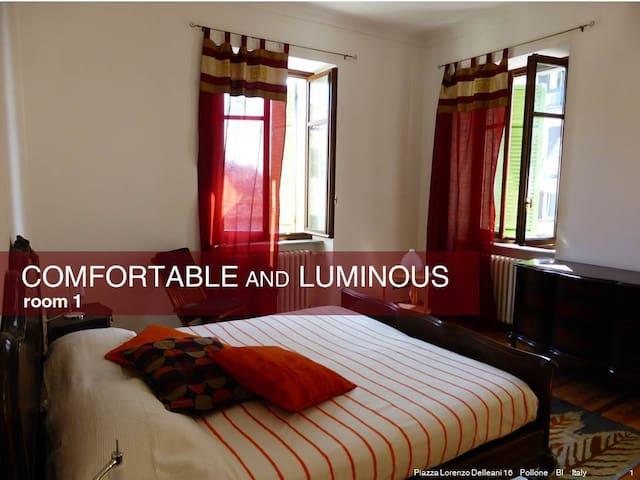 Pollone: luminous & garden - Pollone - Apartment