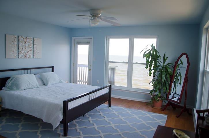 Upstairs king bedroom #1