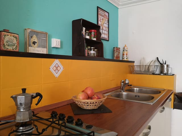 cucina - sala open space