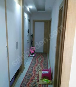 Furnished room in a apartment single bed
