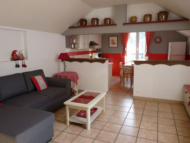 Appartement duplex 75 m2 rénové - Pierrefitte-Nestalas - Apartament