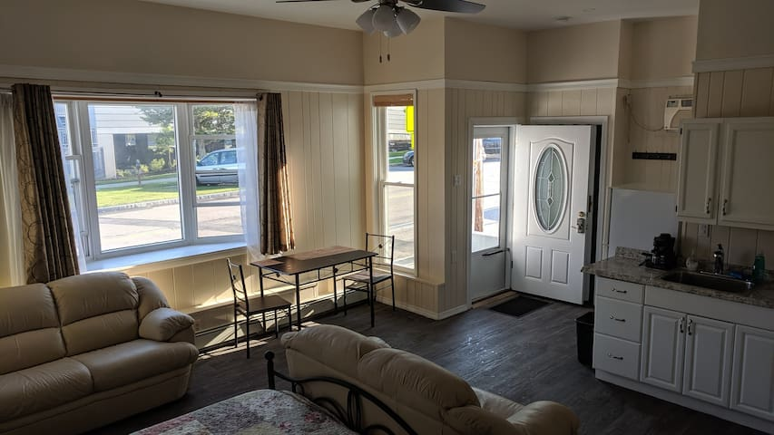Newly renovated studio apartment in East Watertown