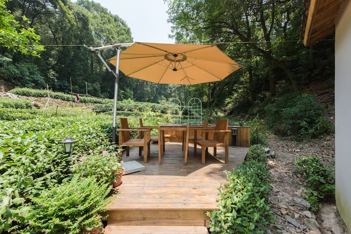 The Flower Hut, Longjing (double bed room B) - Hangzhou - Hus