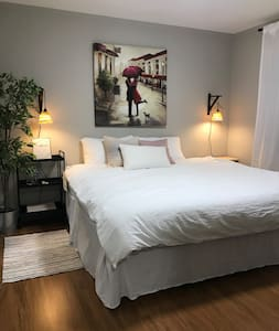 Private Furnished Bedroom (B) in Chicago Surburb