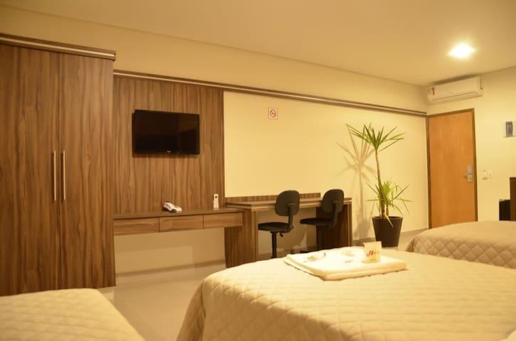 Hotel Horto Plaza -  Quarto Quádruplo