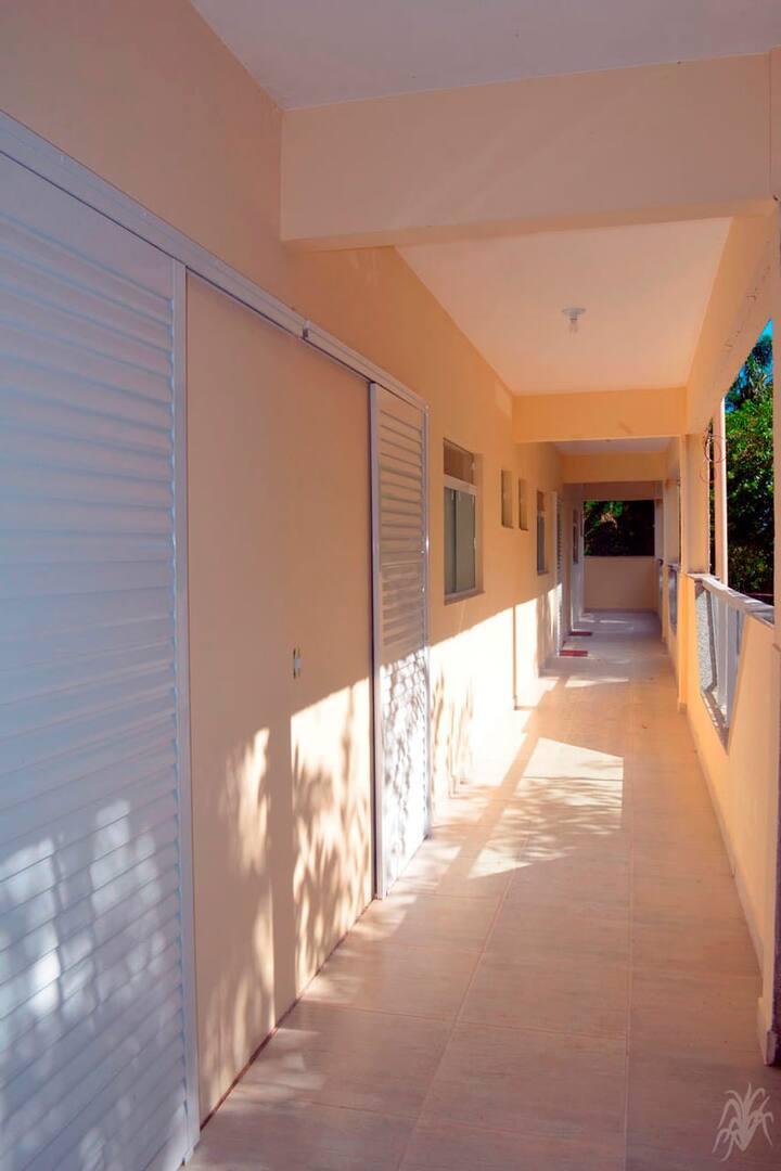 Apartamentos mobiliados na Praia do Lazaro