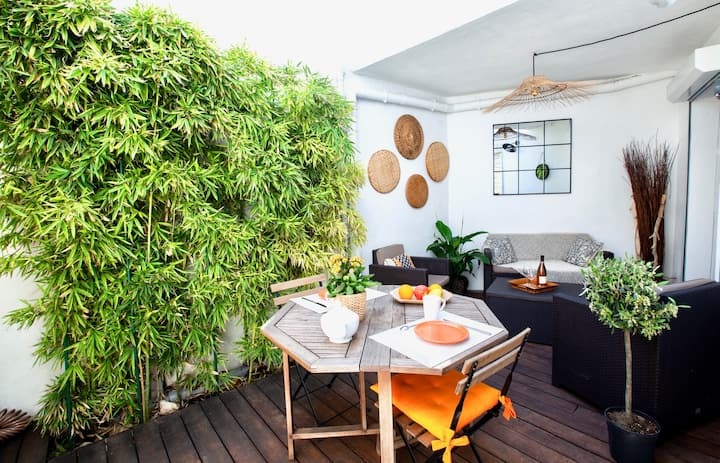 ★ Home Chic Home ★ 1mn TGV Station + TERRACE