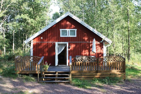 Trollskogen cabins.