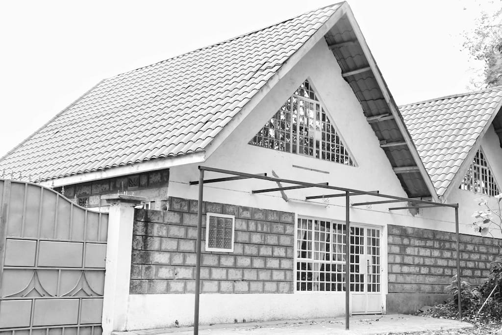 Outside view of the Mworia's bnb