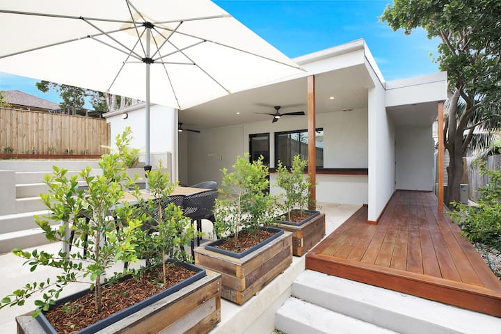 New secluded hidden gem close to Maroubra beach