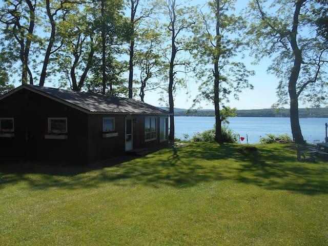 St. Alban's Bay Lake Side Camp Beautiful Views