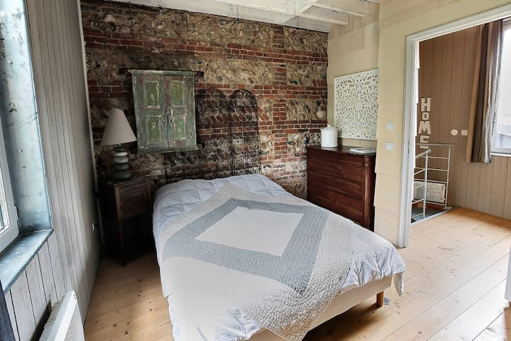 chambre 2 personnes, lit double