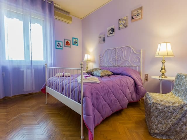Romantica camera lillà - Florencia - Bed & Breakfast