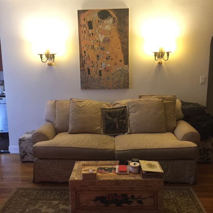 Living room-shared space