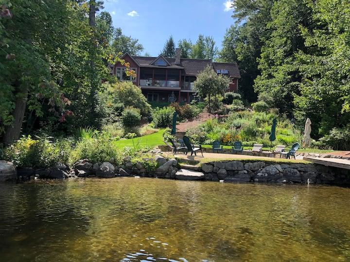 Beautiful Lake Home on Winnipesaukee