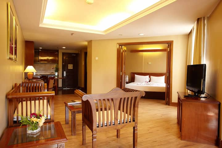 Anthurium Suite King Bedded room inclusive of 2 buffet breakfast