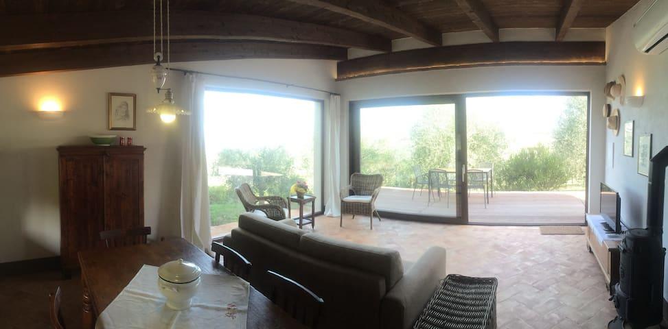 Fonte del Salcio - Casa Dedo 5+2 - Cinigiano - บ้าน