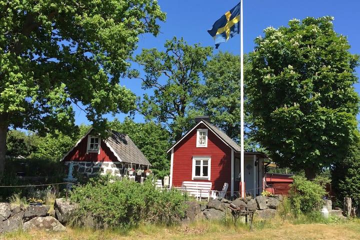 Cozy cabin in Pukavik, Sweden