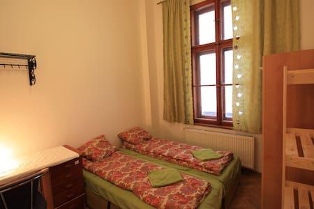 CHarles Square 4 bdrm flat Z1PB5 own room  2 pers - Prague - Apartment