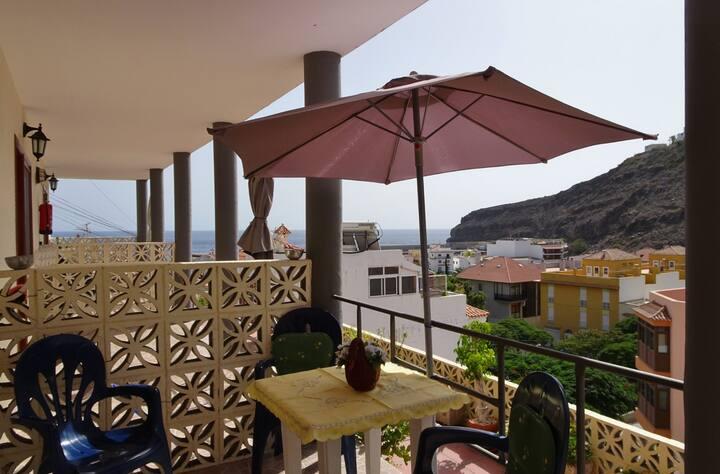 Schöne und günstige Apartments mit Terrasse