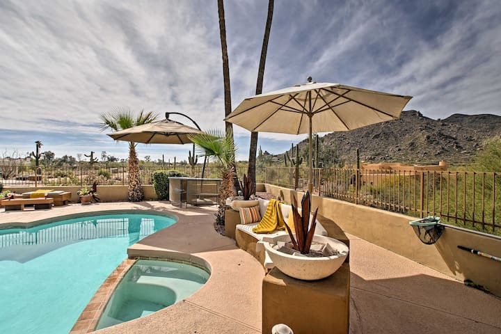 Soak up the sun in the pool area.