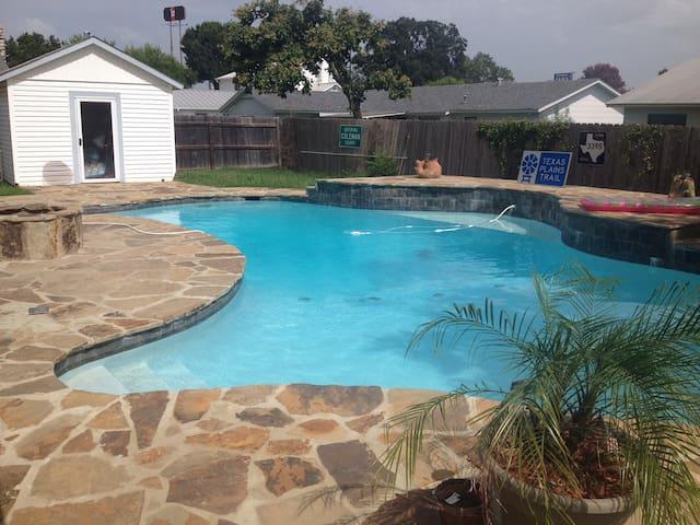 Texas Pool House