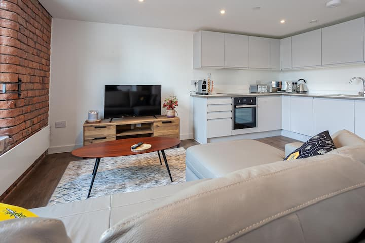 Stylish 1 Bed Apartment in Manchester City Centre