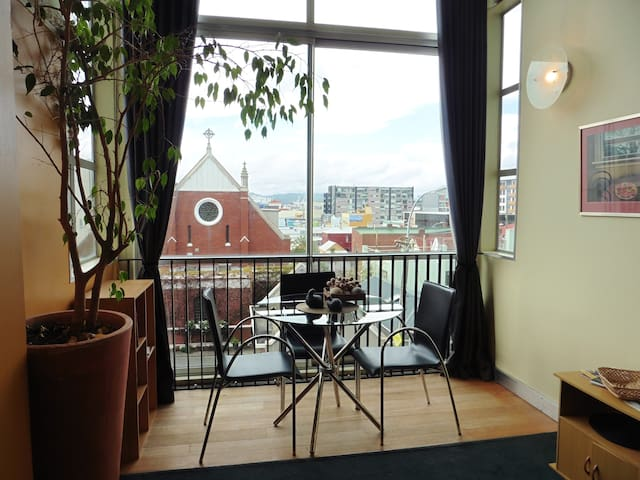 Colorful Cuba Street area - sunny quirky apartment - Wellington - Appartement