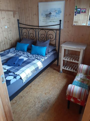 Bedroom 1, 160x200cm bed, soft mattress   NOTE: ALL BEDROOMS ARE SMALL WITH LIMITED FLOOR SPACE!