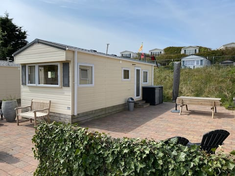 Chalet Ibiza in the dunes of Amsterdam Beach