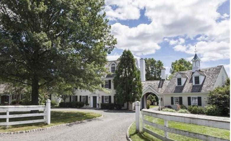 Spectacular Country Estate - Bedminster Township - Dom
