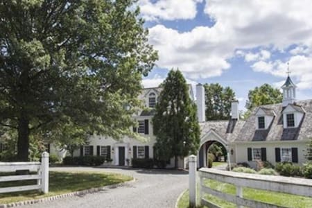 Spectacular Country Estate - Bedminster Township - Casa
