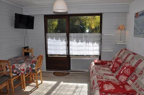 Très beau studio aux portes du soleil