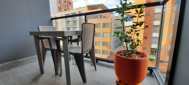Loft nuevo en edificio moderno, cerca a todo