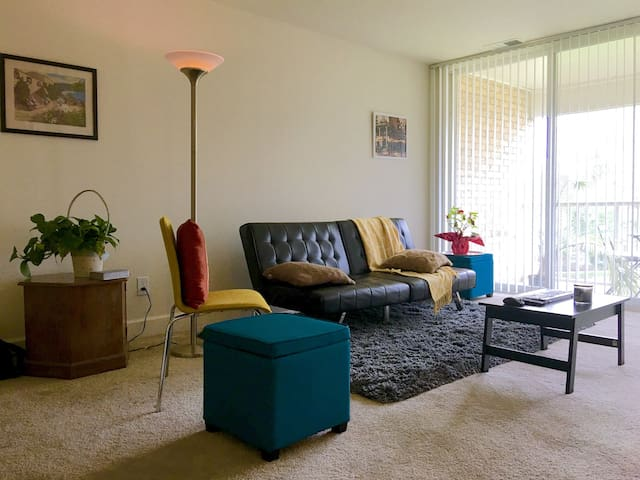 Comfortable Greenbelt Apartment - Greenbelt - Daire