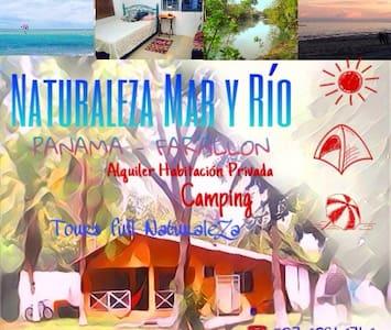 Naturaleza Mar y Río Camping Lodge - Coclé